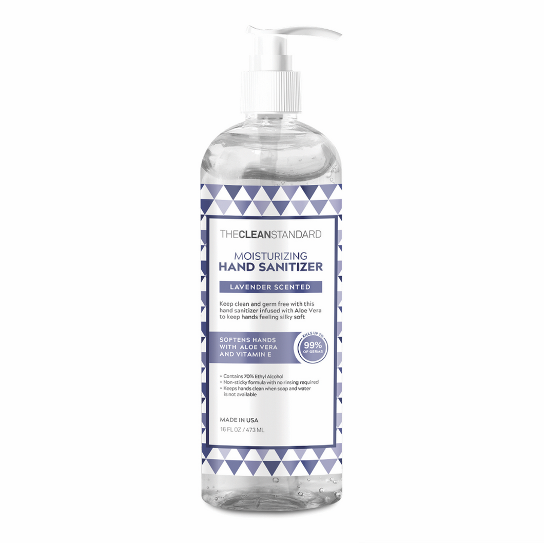 THE CLEAN STANDARD Lavender Scented Moisturizing Hand Sanitizer - 16oz