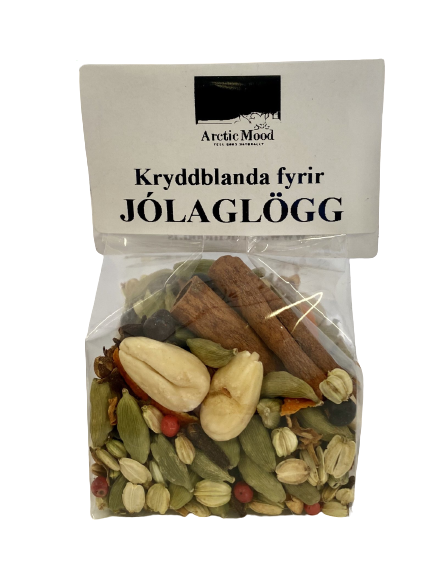 Jólaglögg Kryddblanda -  Christmas Glögg Herbal Blend -  Certified organic
