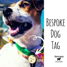 Load image into Gallery viewer, Dream Dog Tags - Bespoke Handcrafted Stamped