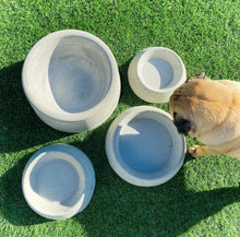 Load image into Gallery viewer, Dream Untippable Concrete Dog Bowls