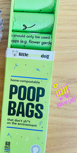 Little Green Dog - Compostable Dog Poop Bags