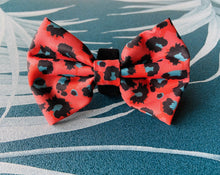Load image into Gallery viewer, Boss + Boo Spotted Cheetah Bow Tie