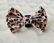Load image into Gallery viewer, Boss + Boo - Luxe Leopard Bow Tie