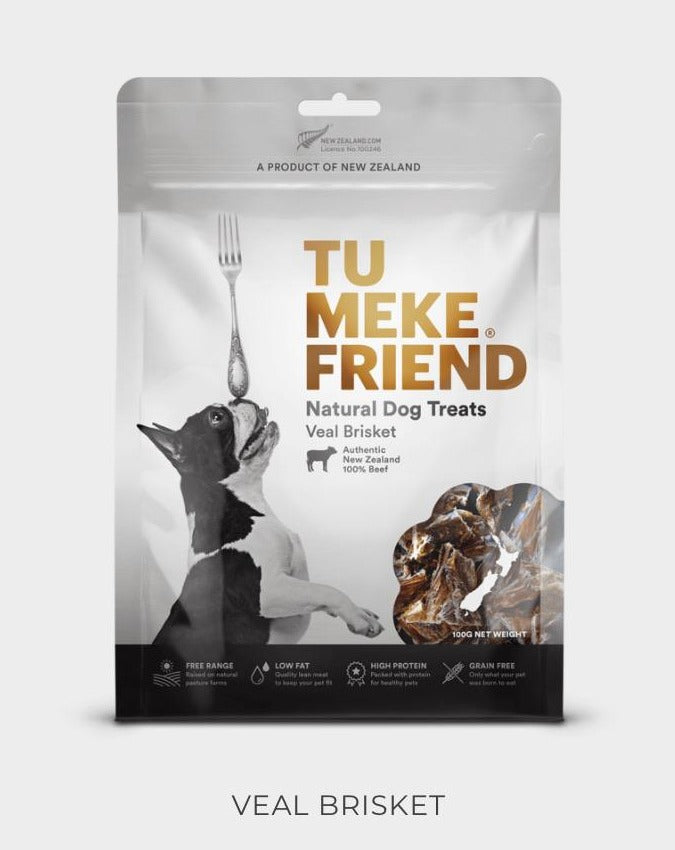 Tu Meke Friend - Veal Brisket - Natural Dog Treats