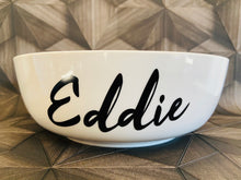 Load image into Gallery viewer, Brooklyn - Ceramic - Personalised Dog Bowls