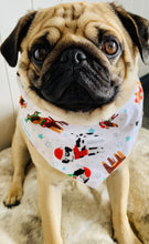 Load image into Gallery viewer, Clothes By Portia - Christmas Bandana - Doggy Christmas