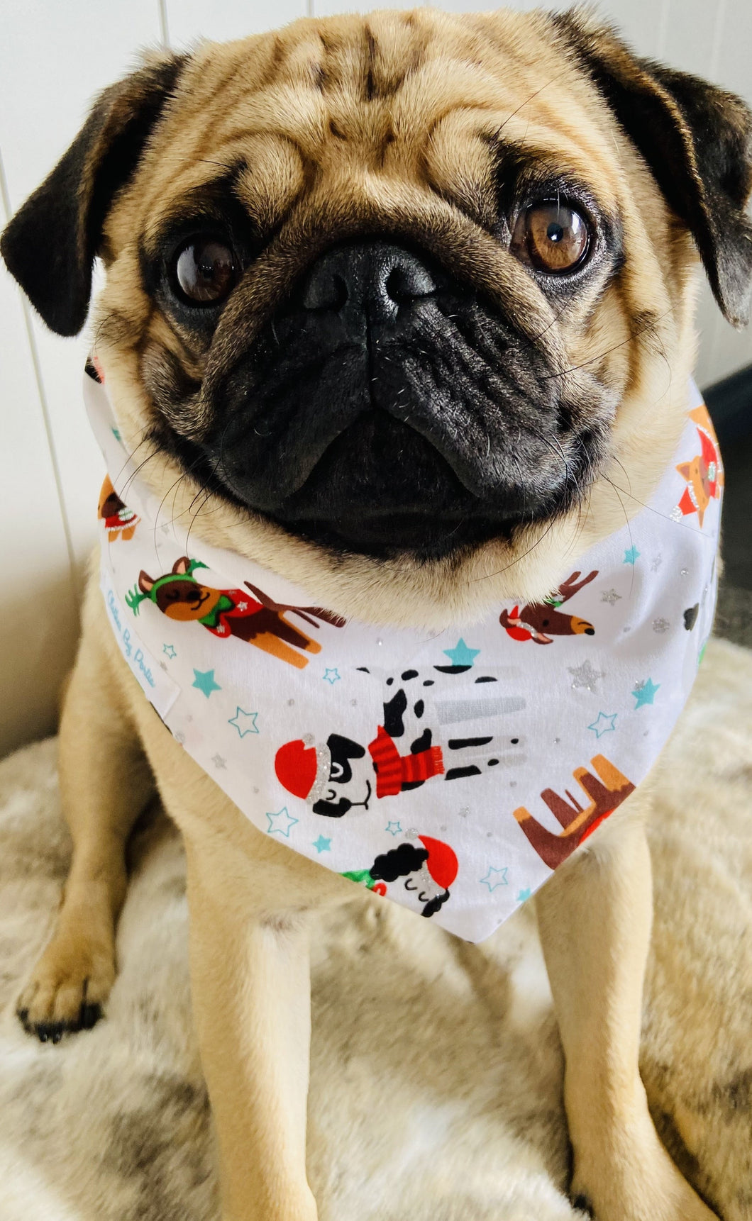 Clothes By Portia - Christmas Bandana - Doggy Christmas