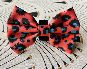 Boss + Boo Spotted Cheetah Bow Tie