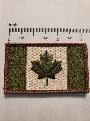 Green Canada Patch