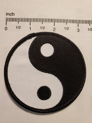 Ying And Yang Patch