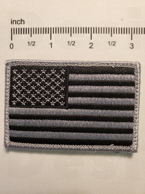 Black And Grey USA Patch