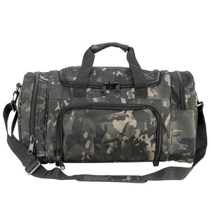 Large Duffle Bag Black Multicam