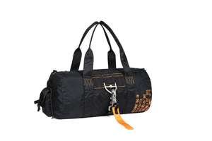 Parachute Style Gym Bag Black