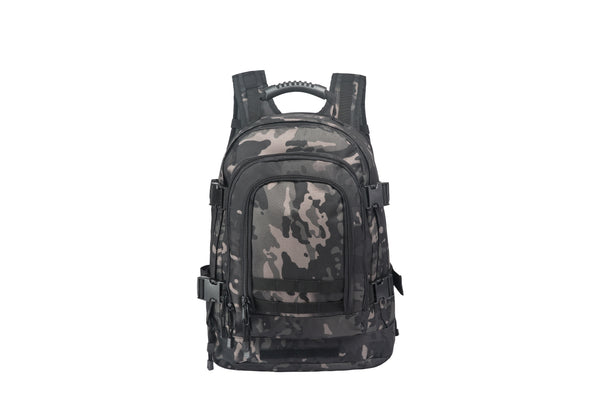 3 Day Expandable Military Backpack Black Multicam
