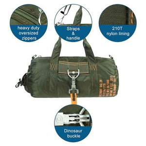 Parachute Gym Bag Green