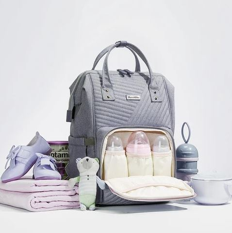 Blair Large Quilted Maternity Backpack