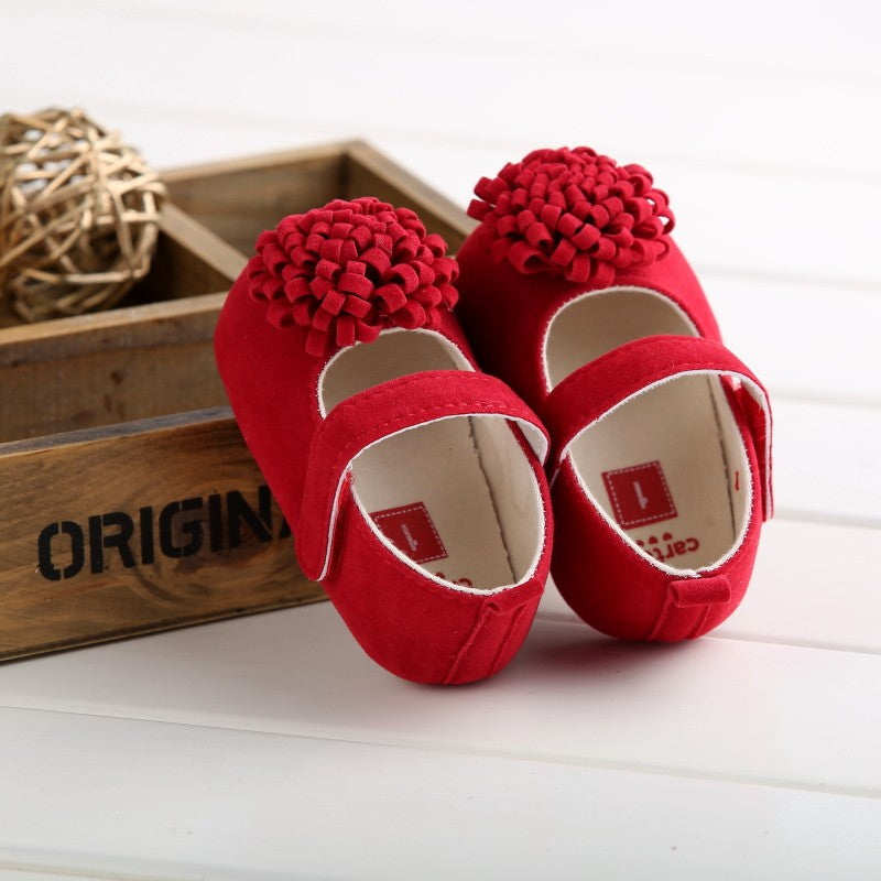 Agnes Colorful Flower Anti-Slip Baby Girl Shoes