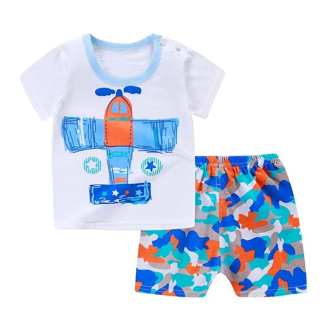 Ted Casual Baby Outfit Set