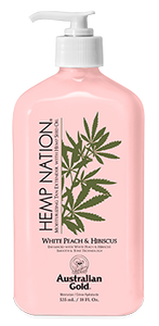 Hemp Nation® White Peach & Hibiscus Tan Extender
