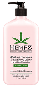 Blushing Grapefruit & Raspberry Creme Herbal Body Moisturizer