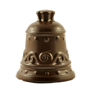 Chocolate Christmas Bell - Dark chocolate