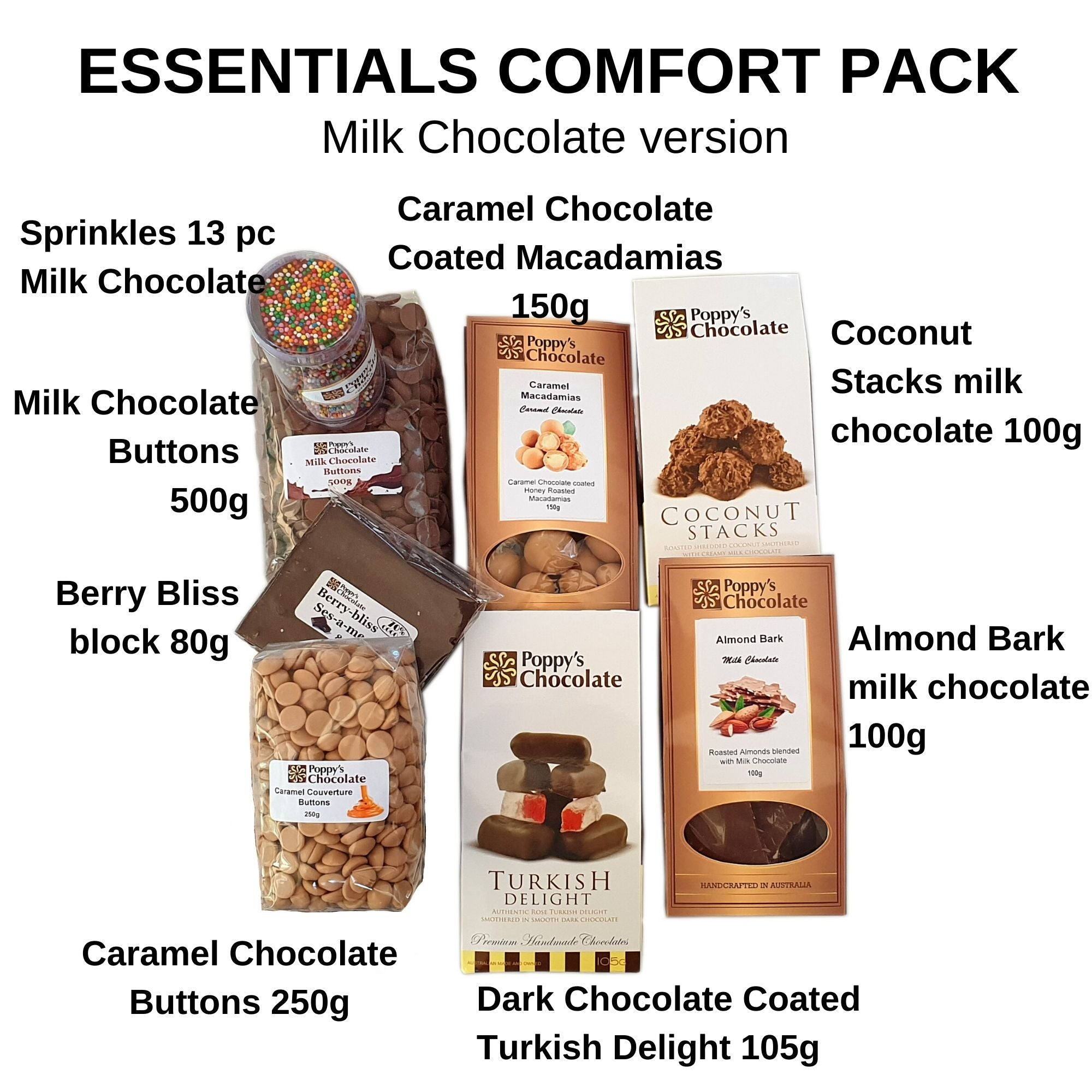 ESSENTIALS COMFORT BOX - MILK CHOCOLATE