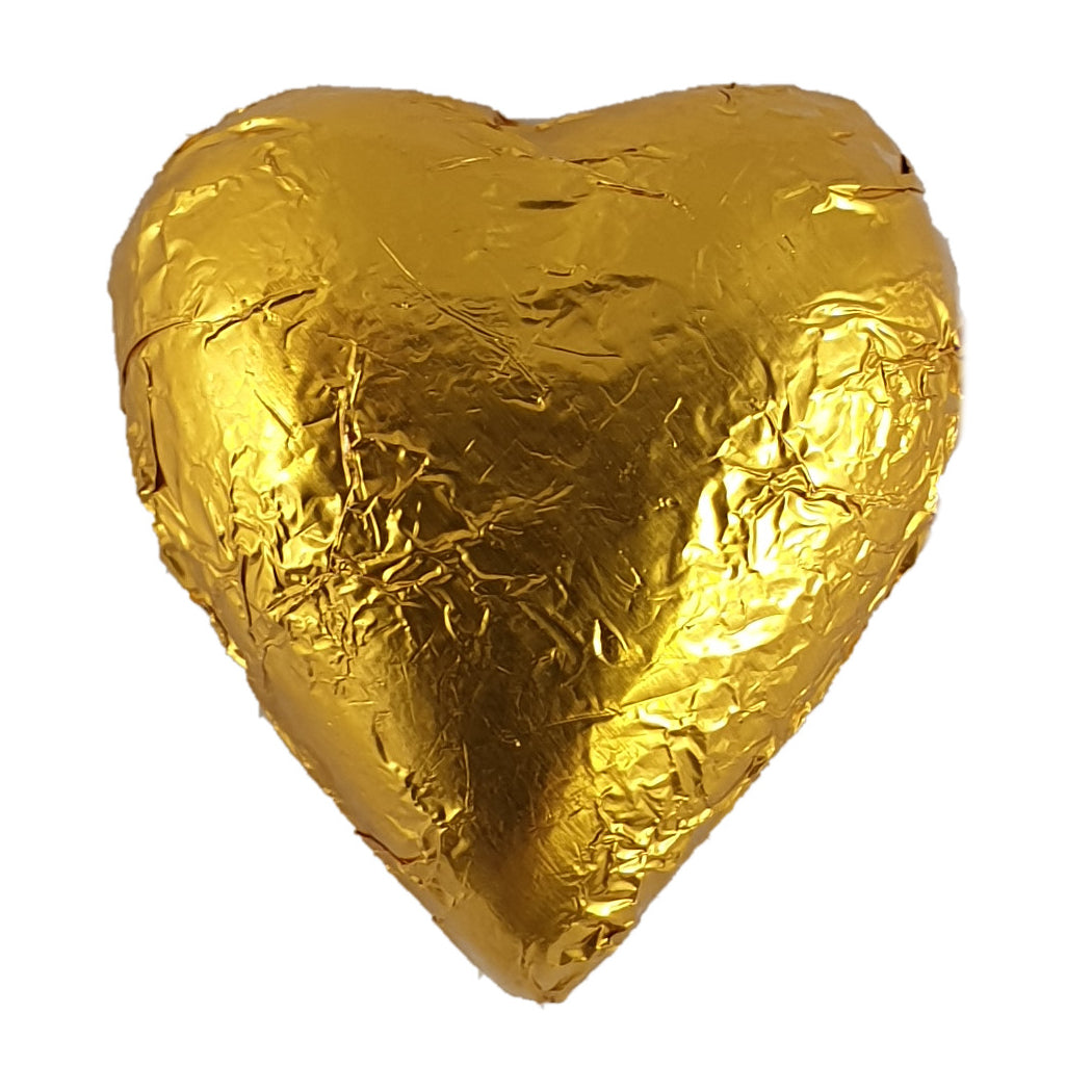 Heart Dark Chocolate Foiled 8g