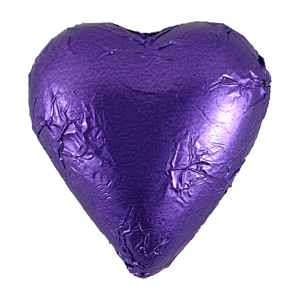 Heart White Chocolate Foiled 8g