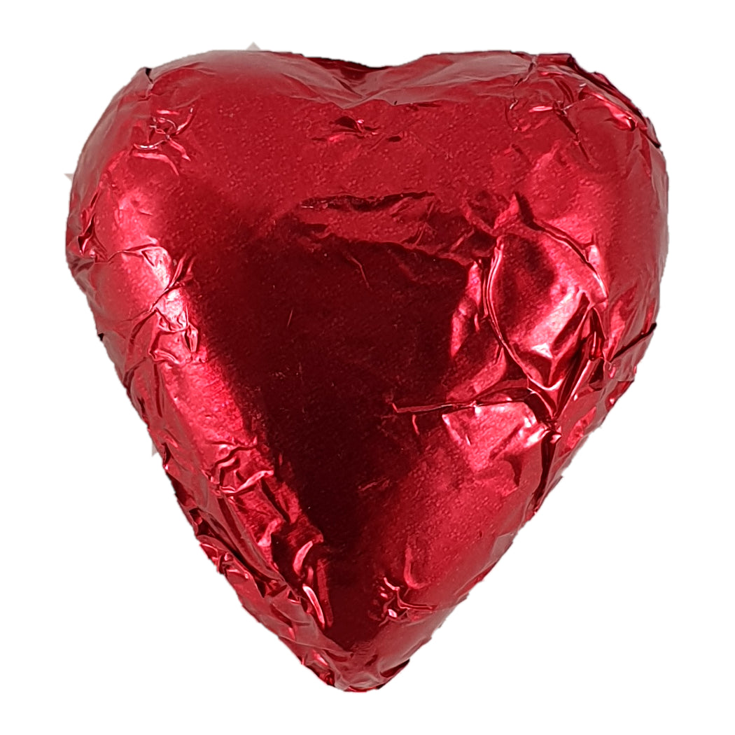 Heart Milk Chocolate Foiled 8g