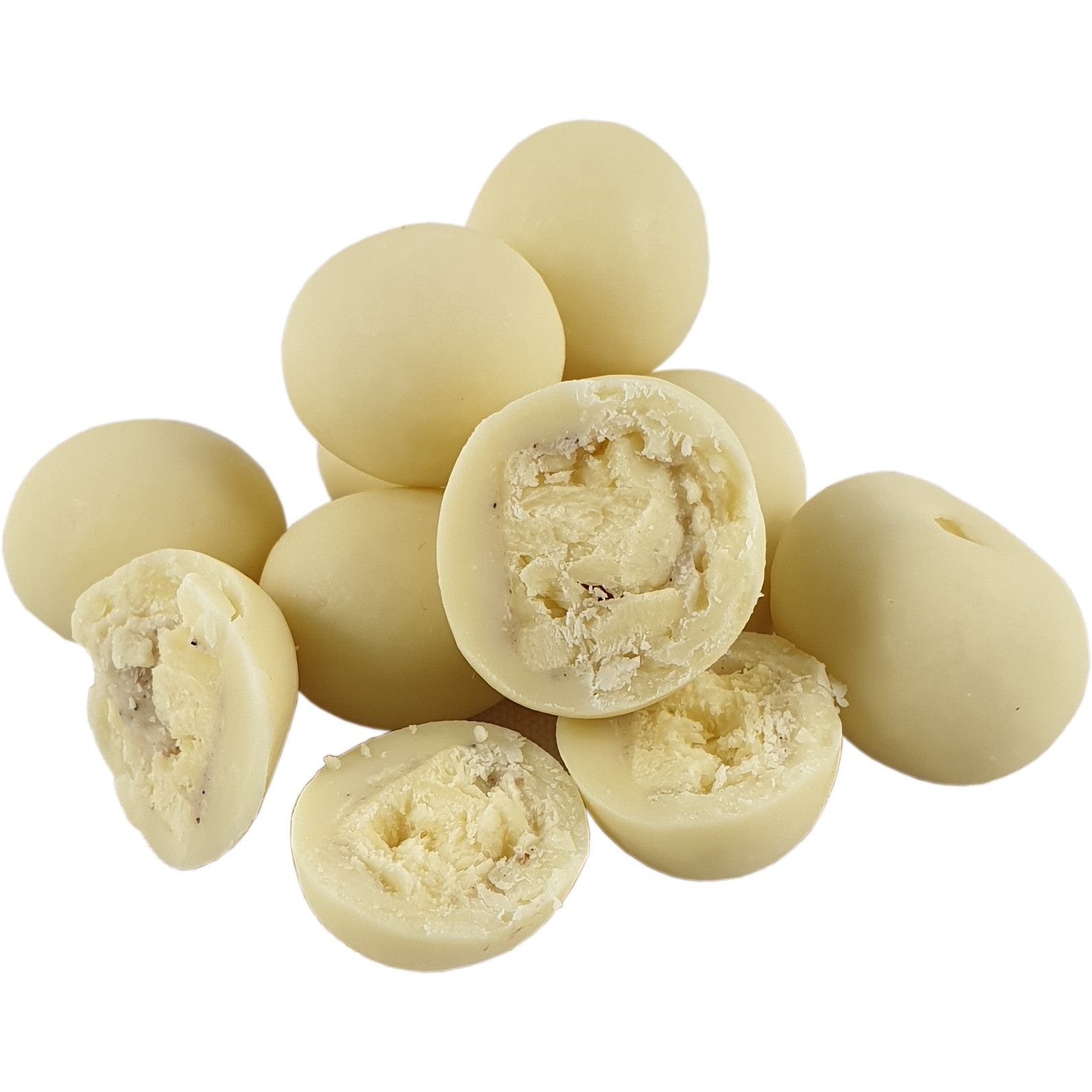 White Chocolate Coated Freeze Dried Cheese 100g