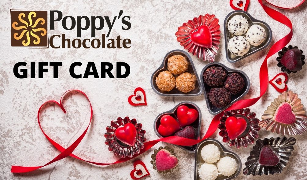 Poppy's Chocolate Gift Card