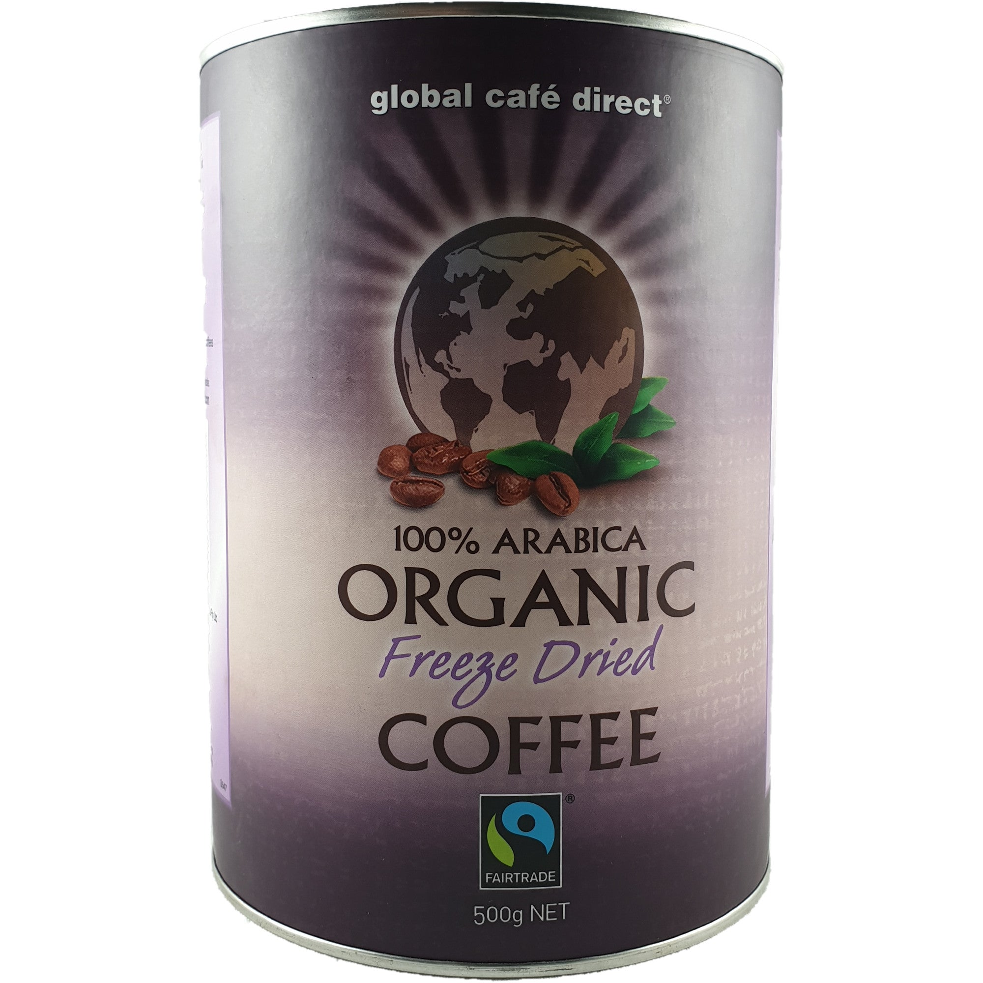 Freeze Dried Organic Fairtrade Instant Coffee 500g
