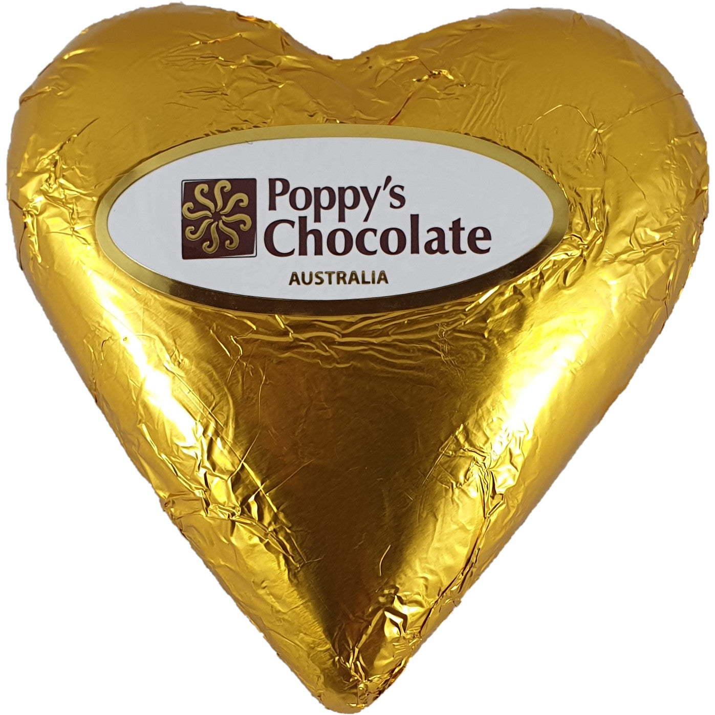 Heart Dark Chocolate Foiled 90g