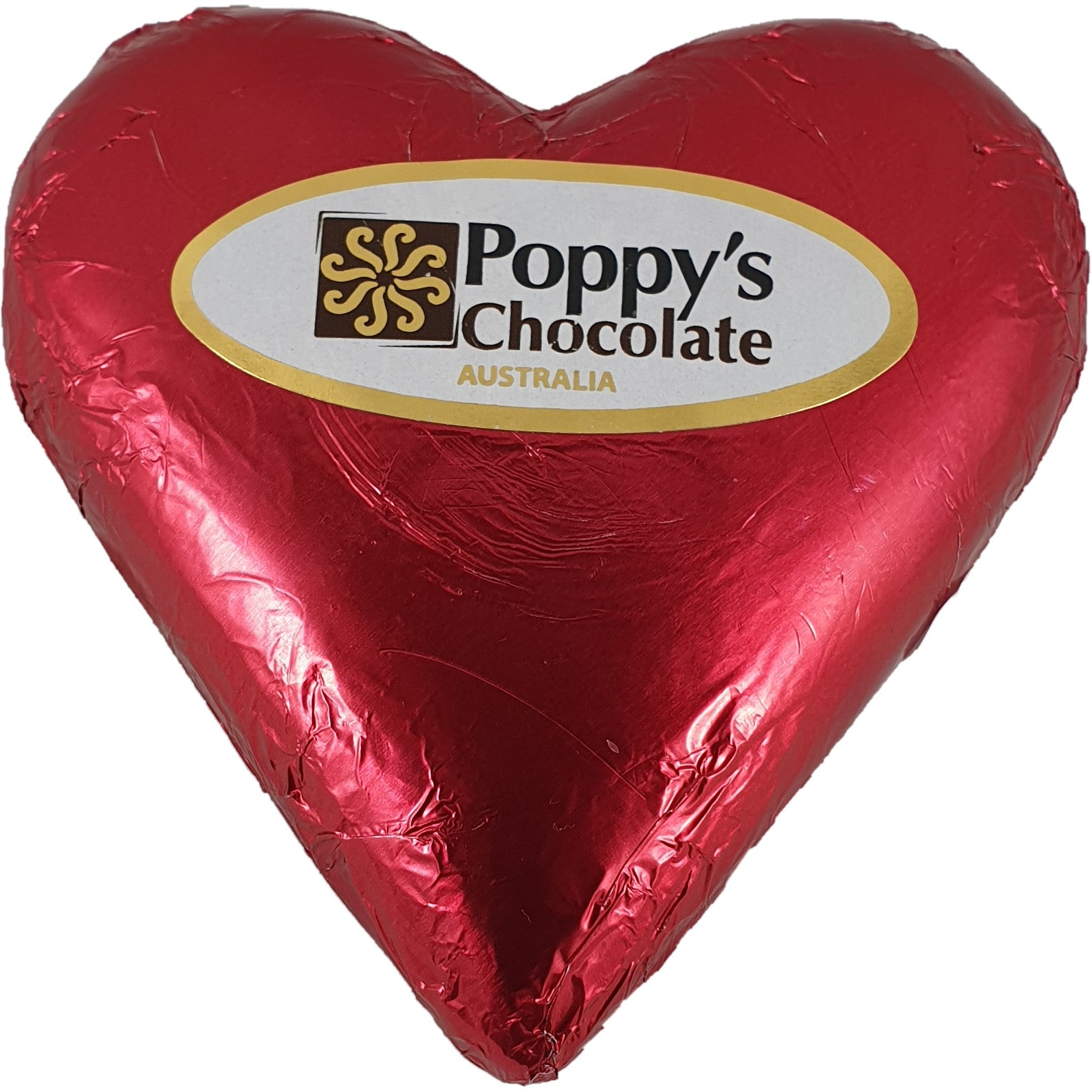 Heart Milk chocolate Foiled 90g