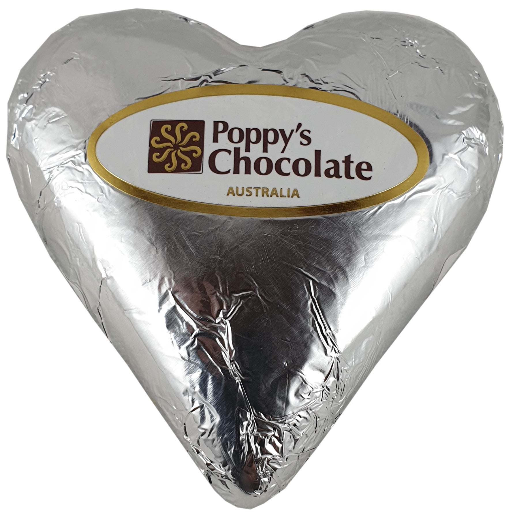Heart 70% Dark Chocolate Foiled 90g - Vegan