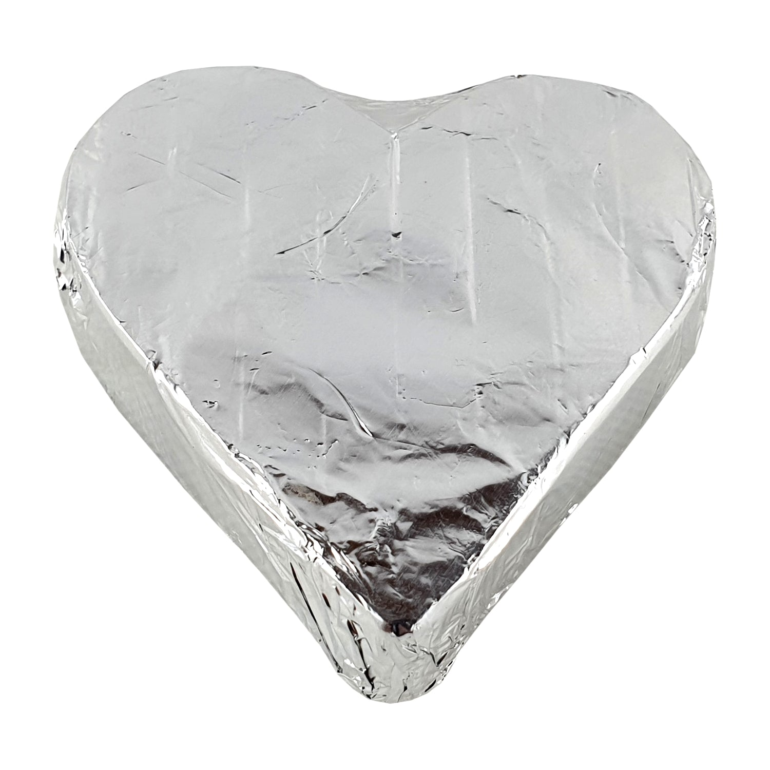 Heart  70% Dark Chocolate Foiled 24g - Vegan