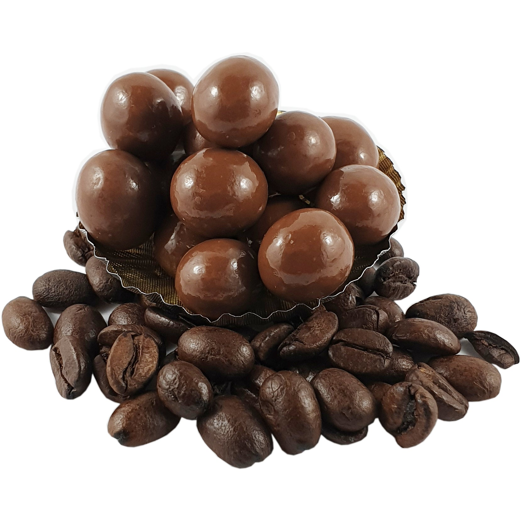 Coffee Beans Coated in Milk Chocolate 150g