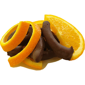 Dark Chocolate Coated Orange Peel 100g