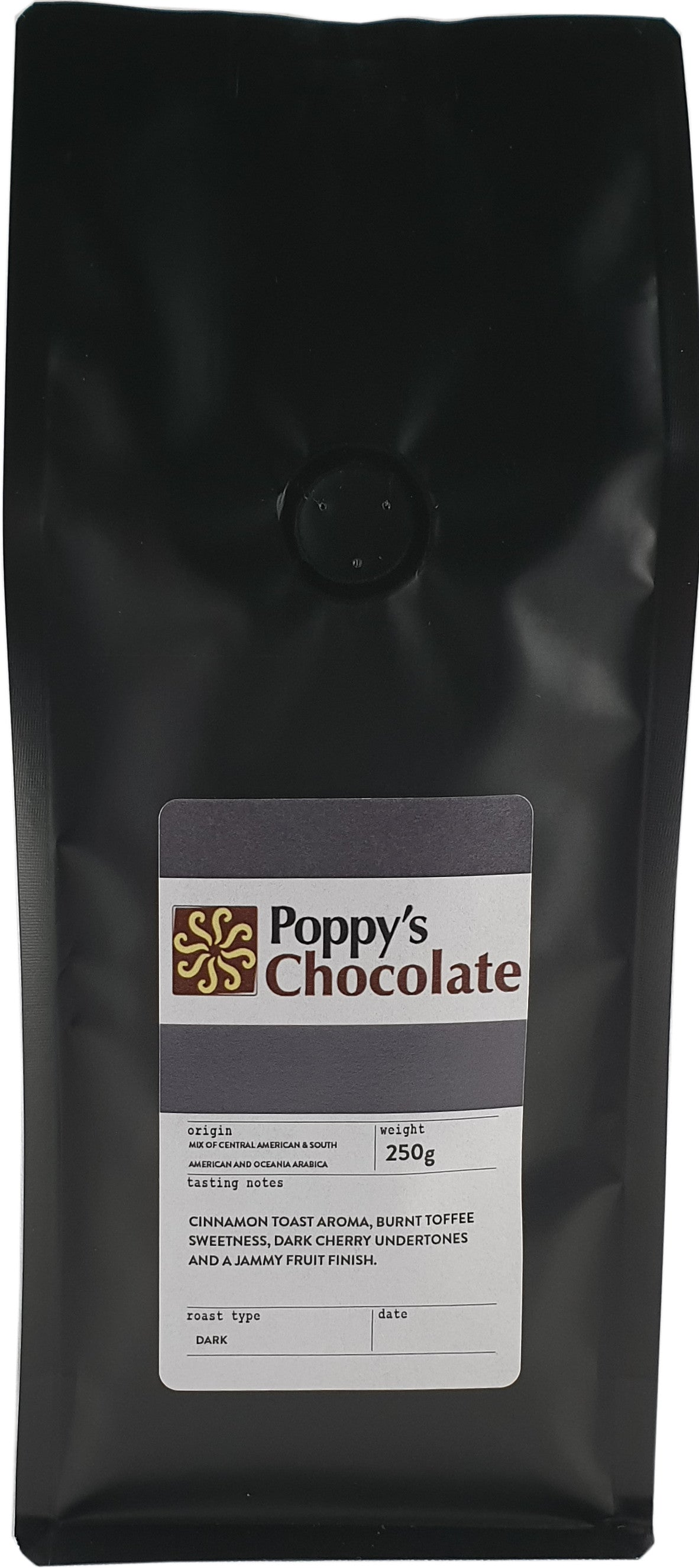 Poppy's Signature Scuro Coffee Ground 250g