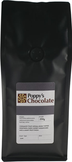 Poppy's Signature Scuro Coffee Beans 250g