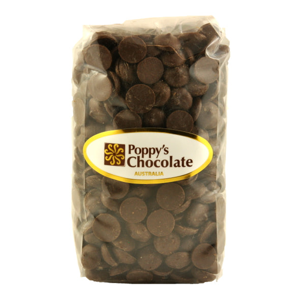 Chocolate Buttons 70% Dark - Vegan, Gluten Free 250g