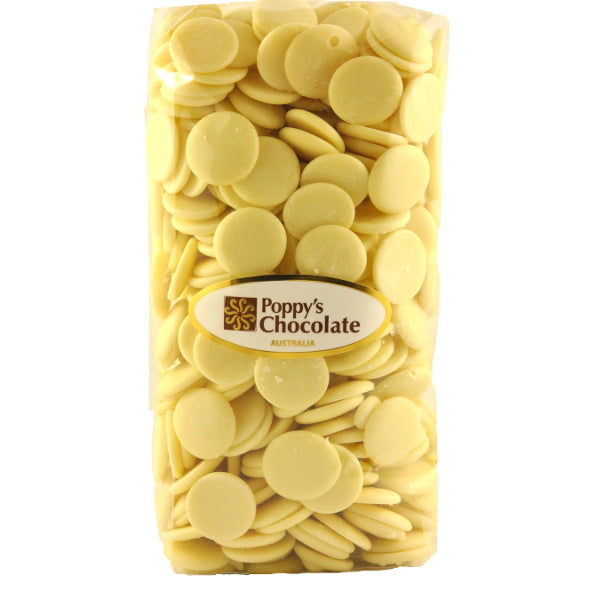 Chocolate Buttons White Couverture chocolate - Gluten Free 1kg