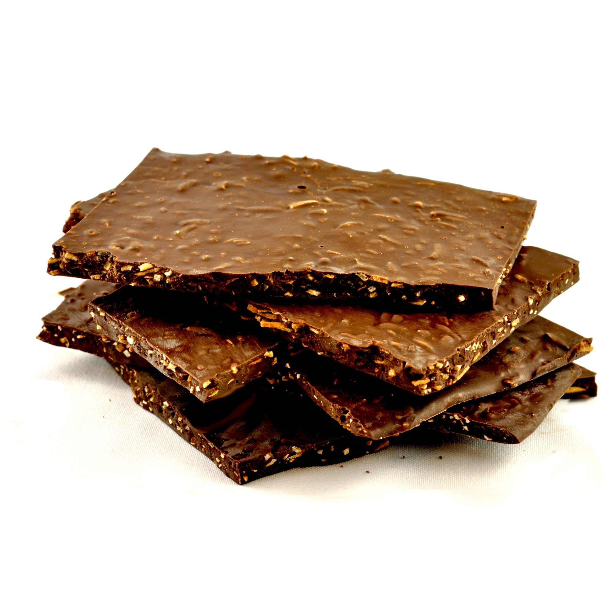 Coconut and 70% Dark Chocolate Bark 100g - Vegan