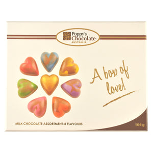A Box of Love Milk Chocolate