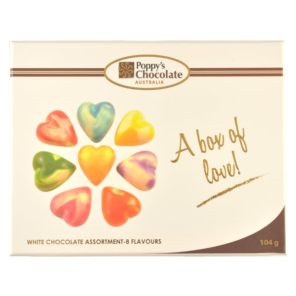 A Box of Love White Chocolate