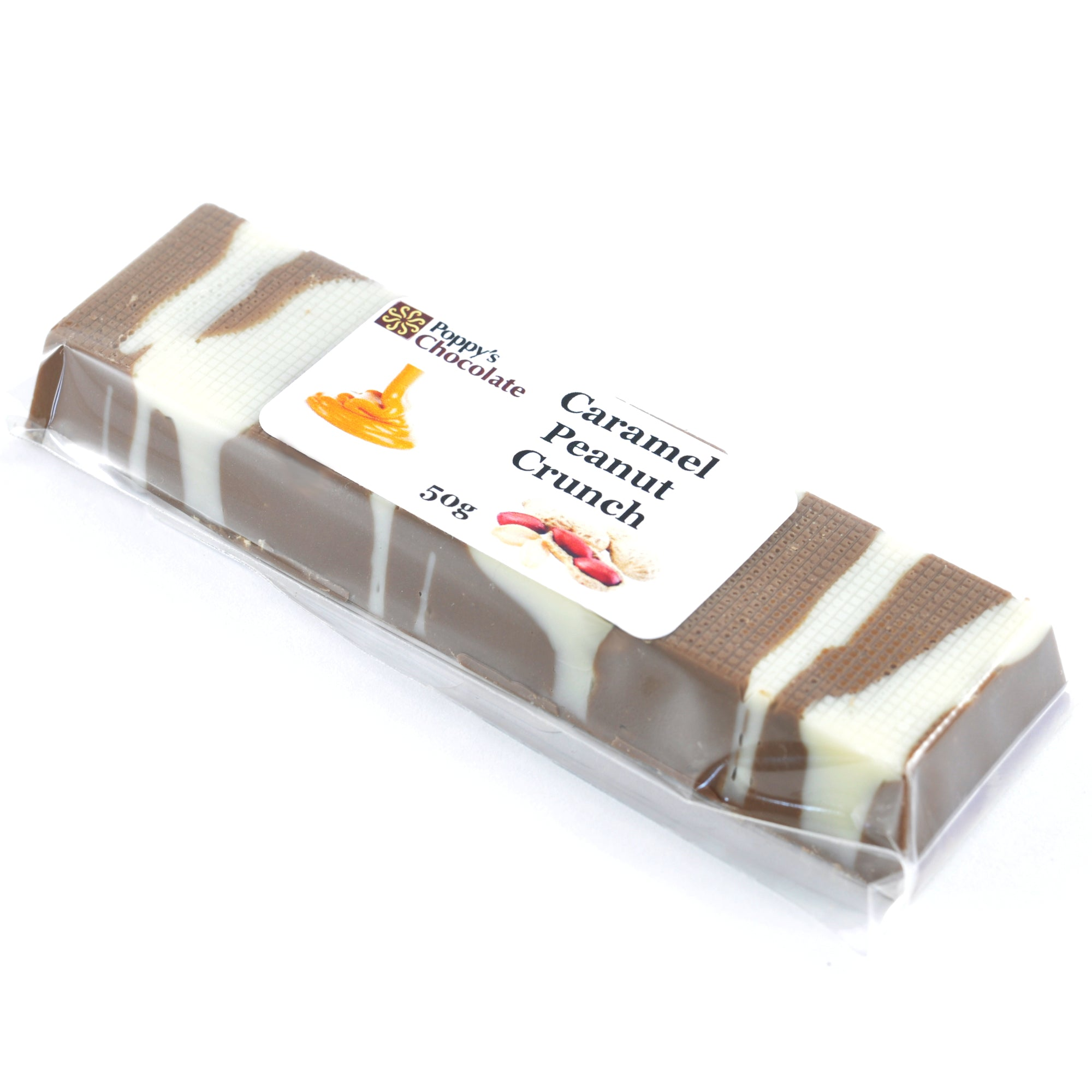 Caramel Peanut Crunch Bar 50g