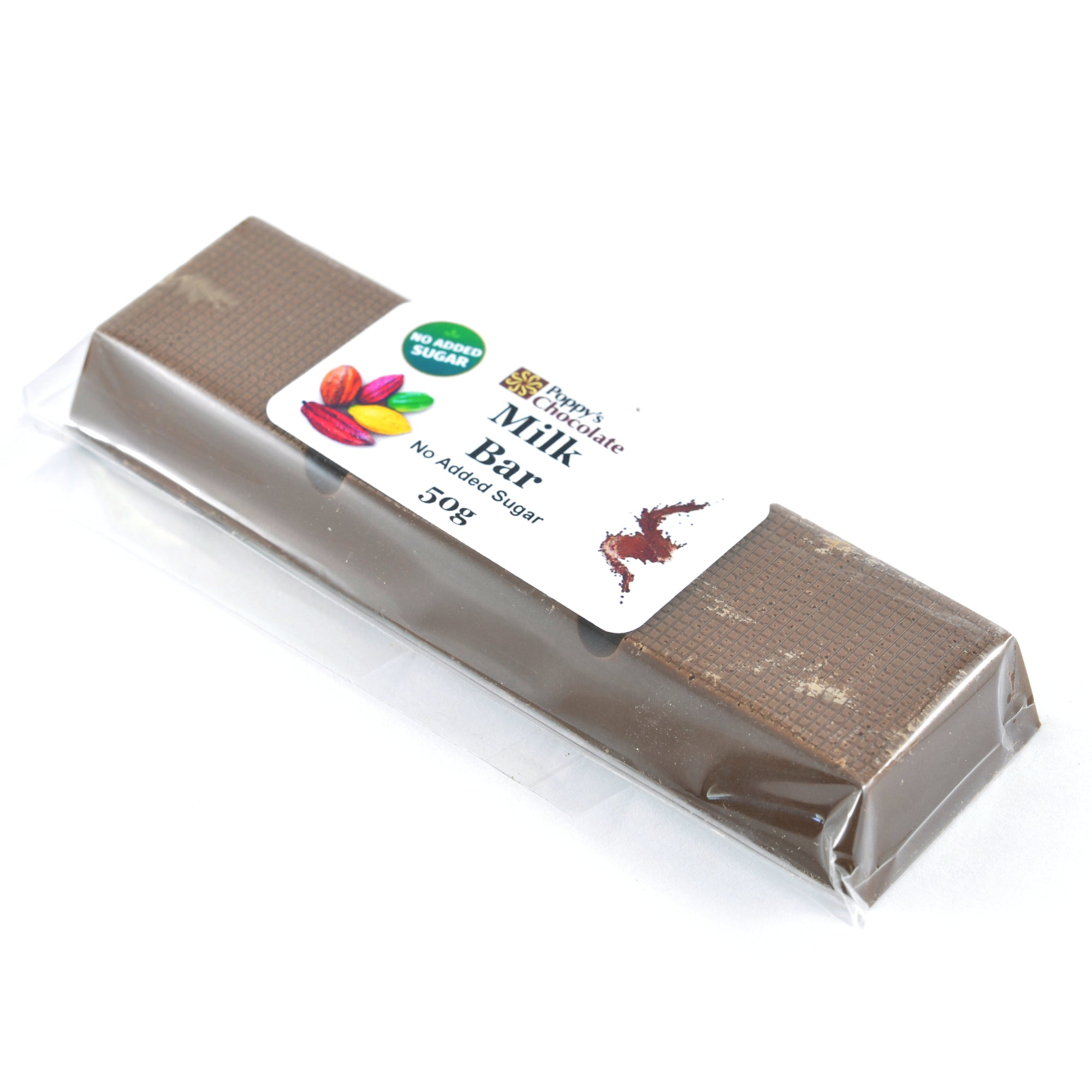 No Added Sugar Bar Milk Chocolate 50g