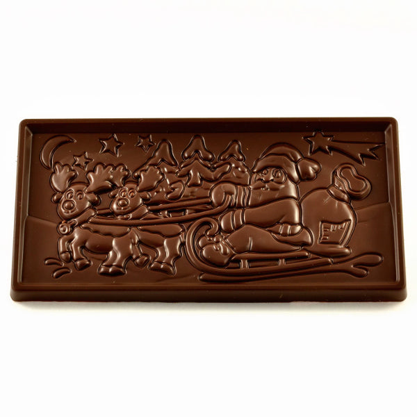 Christmas Scene Bar - Dark chocolate