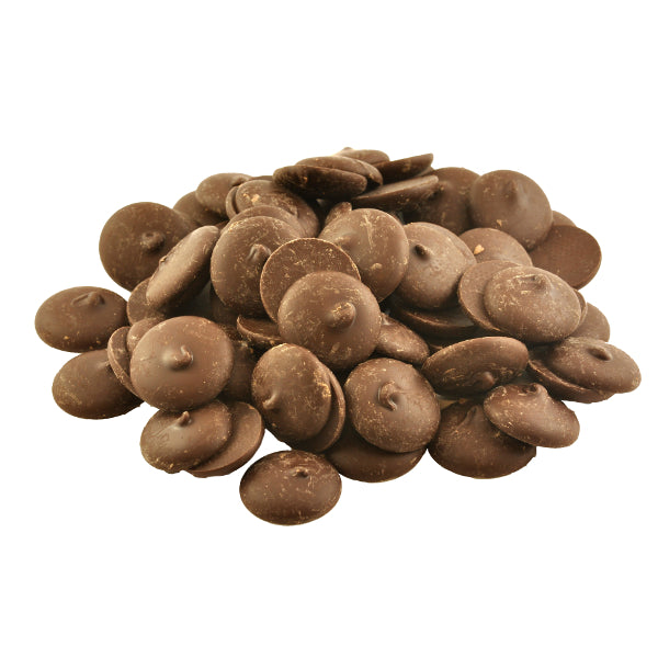 Chocolate Buttons 56% Dark - Gluten Free, Lactose Free 500g