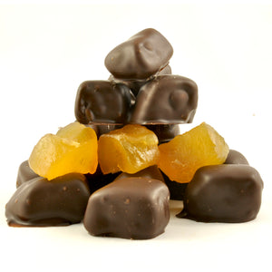 Dark Chocolate Coated Ginger 100g